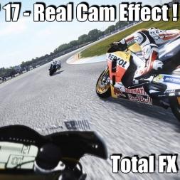 MotoGP 17 Real Cam Effect Total FX MOD - Insane Assen Race (4k)