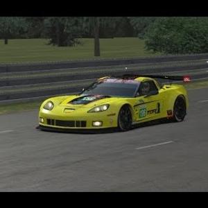 RDLMS 24h of Le Mans - #106 Corvette onboard part #1 (No sound)