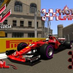 Assetto Corsa * ACFL 2017 Ferrari SF70-H * Baku GP * Hotlap [1:38:271]