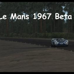rFactor 2 Le Mans 1967 Beta.