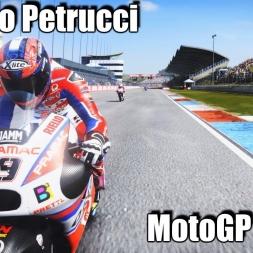 MotoGP 17 Danilo Petrucci Assen RACE Gameplay - TOTAL FX MOD 4k