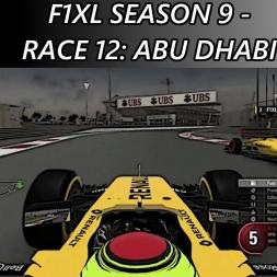 F1 2016 - F1XL Season 9 - Race 12: Abu Dhabi