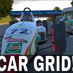 iRacing UK&I Skip Barber at Lime Rock Park - 60 Car Grid