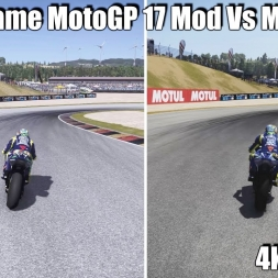 MotoGP 17 vS Vr The Game MotoGP 17 MOD - Which is the best is the best? (4k)
