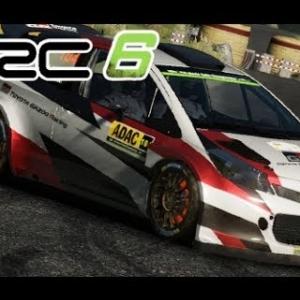 "WRC 6 - Toyota Yaris WRC - Arena Panzerplatte - 1'33""516"