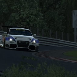 R3E - Audi TT RS Cup at Nordschleife VLN - 8:18.489 + Setup