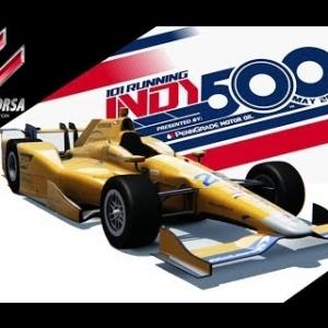 Alonso 500 miles indianapolis skin Assetto Corsa