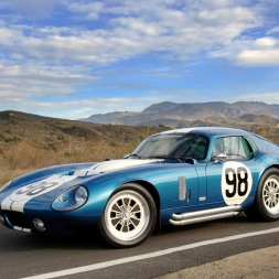 Assetto Mods: Shelby Daytona Coupe at Highlands Drift!