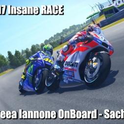 MotoGP 17 - Andreea Iannone OnBoard - Sachsenring Insane RACE (4K)