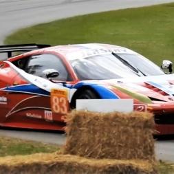 Ferrari 458 GT2 CRASH at Goodwood Festival of Speed 2017