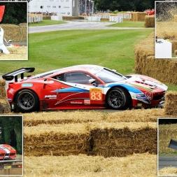 Ferrari 458 GT2 CRASH at Goodwood Festival of Speed 2017 - HD(Slow-Mo)