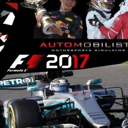 f1 2017 Mercedes W08 automobilista