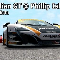 Australian GT's at Phillip Island