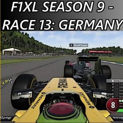 F1 2016 - F1XL Season 9 - Race 13: Germany