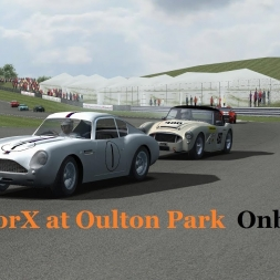 HistorX at Oulton Park Onboard.