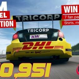 RaceRoom Racing Experience | Tom Coronel Competetion | Zandvoort | 1.40,951 (Hotlap + Setup)