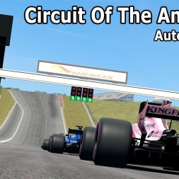 F1 2017 at Circuit Of The Americas (COTA) mod