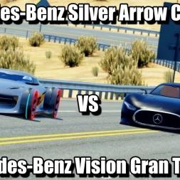Assetto Corsa - Mercedes-Benz Vision Gran Turismo VS Silver Arrow
