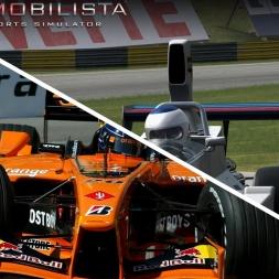 Automobilista Imola 1972 & Imola 2001 comparison @ Imola