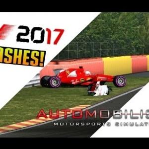 Automobilista crashes and fails/F1 2017