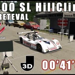 ASSETTO CORSA : 2000 SL HillClimb : course de côte de FRÉTEVAL
