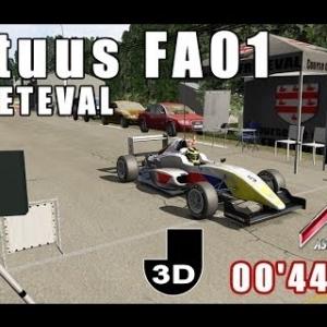 ASSETTO CORSA : Tatuus FA01 : course de côte de FRÉTEVAL