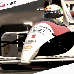 Assetto Corsa  -Ayrton Senna Sempre-  Ingame cinematic Movie