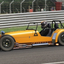 Assetto Corsa Caterham 7 Super Sprint 1995 @ Brands Hatch GP
