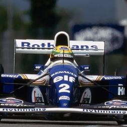 rFactor 2 Williams FW16 @ Imola