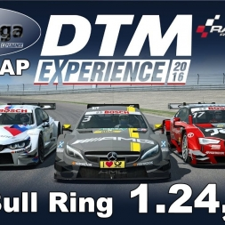 RaceRoom Racing Experience   VTM-Liga   DTM 2016   Polelap Red Bull Ring + Setup   1.24,245