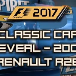 F1 2017 Classic Car Reveal - 2006 Renault R26 (Alonso & Fisichella)