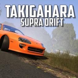 Takigahara Supra Drift - Assetto Corsa Oculus Rift Gameplay
