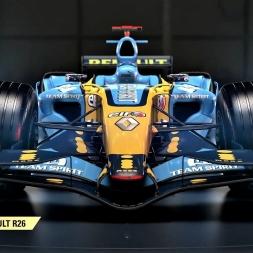 F1 2017 Classic Car Reveal - 2006 Renault R26 - HD