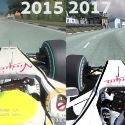 2 Years Apart - 2015 vs 2017