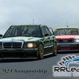RR Leagues | DTM '92 Championship | Round 3 - Shanghai