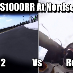 BMW S1000RR At Nordschleife - Ride 2 Vs Real Life (2k)
