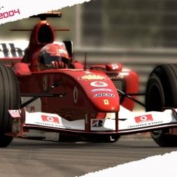 Assetto Corsa Ferrari F2004 by ASRformula