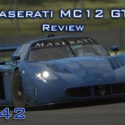 Assetto Corsa Gameplay | Maserati MC12 GT1 Review (Ready 2 Race DLC) | Episode 142