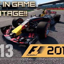 F1 2017 – Max Verstappen 'Silverstone Short' Gameplay  - Red Bull RB13 & RB6 IN GAME!!