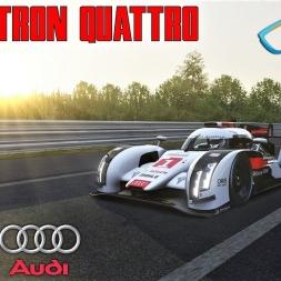 Audi R18 E-Tron Quattro 2014 HOTLAP at Circuit de la Sarthe (LE MANS) - Assetto Corsa
