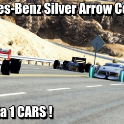Assetto Corsa - Mercedes-Benz Silver Arrow Vs F1 Cars !