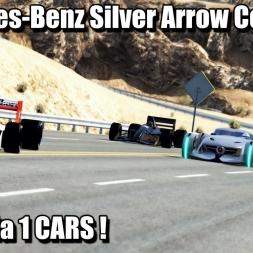 Assetto Corsa - Mercedes-Benz Silver Arrow Vs F1 Cars !