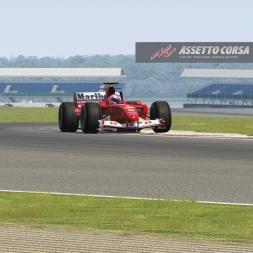 Assetto Corsa British Grand Prix Ferrari F2004 @ Silverstone