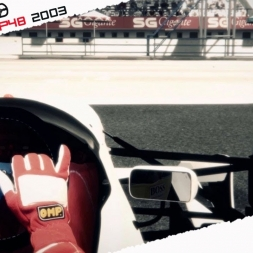 Assetto Corsa Mixed Reality Ayrton Senna McLaren MP48 1993 test at Estoril