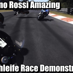 MotoGP 17 Valentino Rossi Amazing Nordschleife Race Demonstration