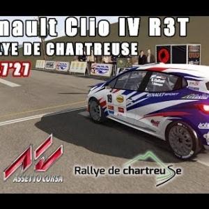 ASSETTO CORSA : Renault Clio IV R3T : RALLYE DE CHARTREUSE