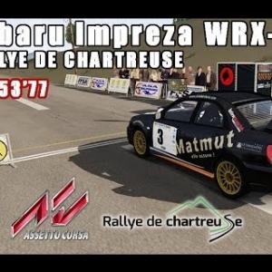 ASSETTO CORSA : Subaru Impreza WRX-STi 2004 : RALLYE DE CHARTREUSE