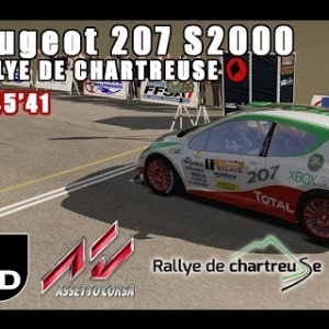 ASSETTO CORSA : Peugeot 207 S2000 : RALLYE DE CHARTREUSE