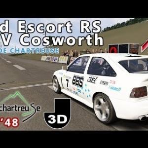 Ford Escort RS Mk V Cosworth : RALLYE DE CHARTREUSE