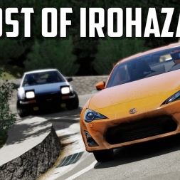 Crazy GT86 driver - The Ghost of Irohazaka - Assetto Corsa Oculus Rift gameplay